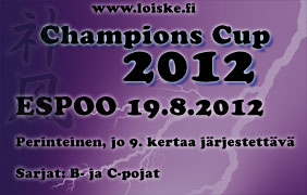 Champions Cup, 19.8.2012