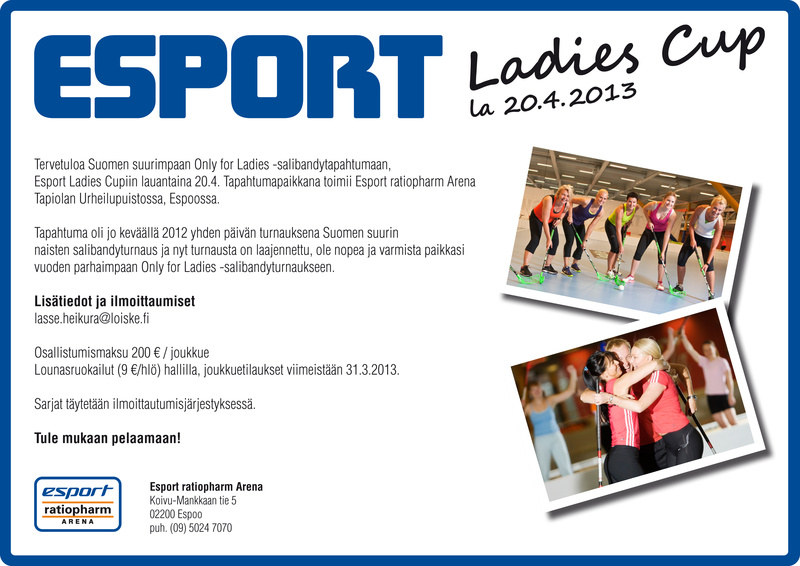 Esport Ladies Cup, 20.4.2013