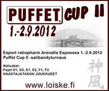 Puffet Cup II, 1.-2.9.2012